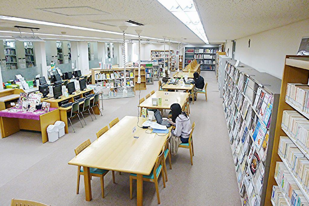 天使大学図書館